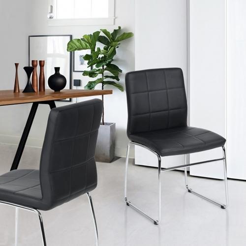 כיסא לפינת אוכל מרופד בעיצוב מודרני מבית Homax