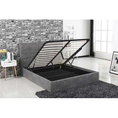 מיטה זוגית אלגנטית עם ארגז מצעים Vitorio Divani