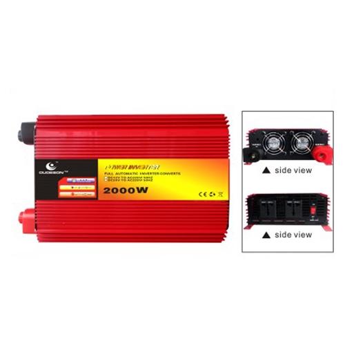 ממיר מתח חשמלי מ- DC ל AC הספק Krauss 2000-4000W