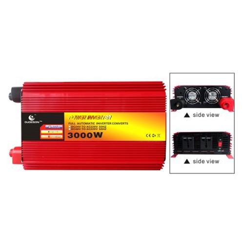 ממיר מתח חשמלי מ- DC ל AC הספק Krauss 3000-6000W