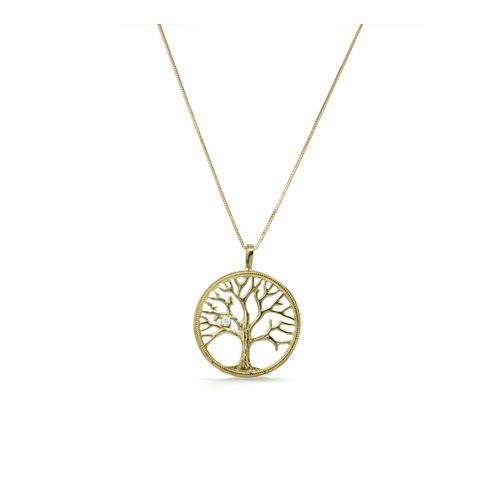 שרשרת זהב עם תליון עץ החיים לגבר