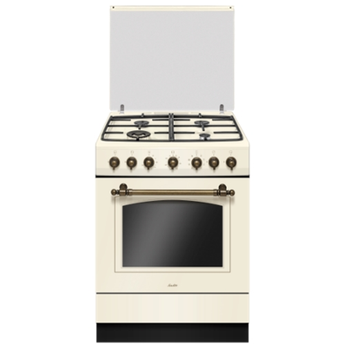 תנור משולב בעיצוב רטרו יוקרתי 4 מבערים סאוטר