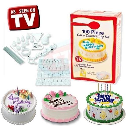 ערכה לקישוט עוגות+ 2 זוגות מערבל ידני מבית TVITEMS