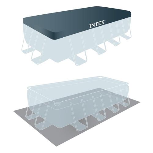 """בריכת INTEX/אינטקס במידות 488X244X107 ס""""מ דגם 2679"""