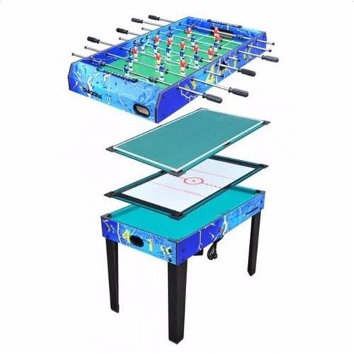שולחן 4 משחקים (הוקי/ביליארד/טניס/כדורגל)