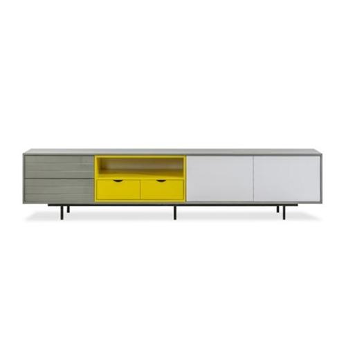 סט שולחן ומזנון דגם פקטורי
