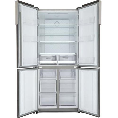 מקרר 4 דלתות 547 ליטר זכוכית לבנה מבית HAIER