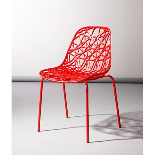 זוג כסאות דגם דגן אדום