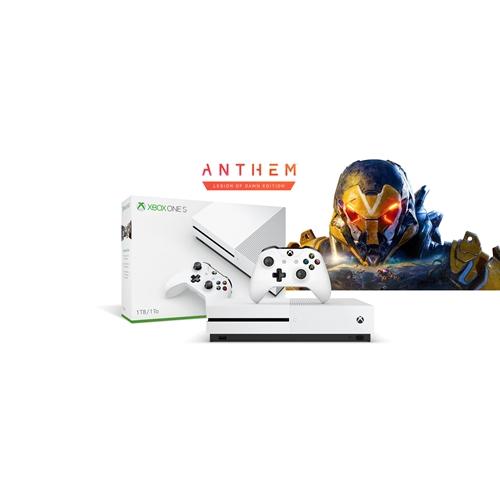 קונסולת Xbox One S 1TBּ+משחק Anthem+מתנה!