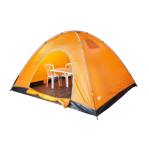 """אוהל 8 אנשים 400-300-200 ס""""מ+ פנס"""
