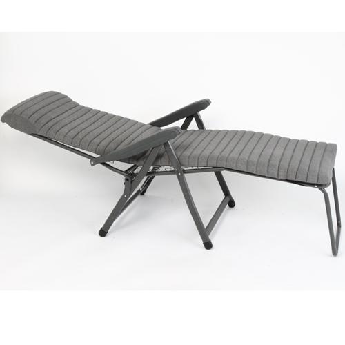 כיסא נוח מתקפל + מיזרון פסים ומצבים רילקס איטליה