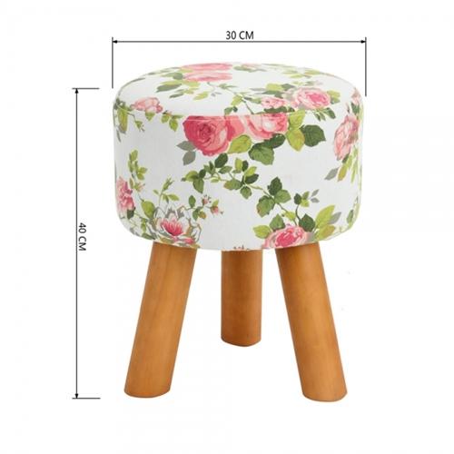 """כיסא הדום פרחוני דגם """"ראני"""" מבית HOMAX"""