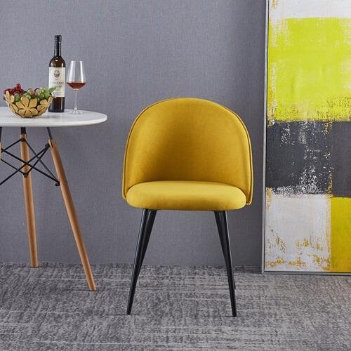 כסא אוכל מעוצב ומרופד דגם Y187