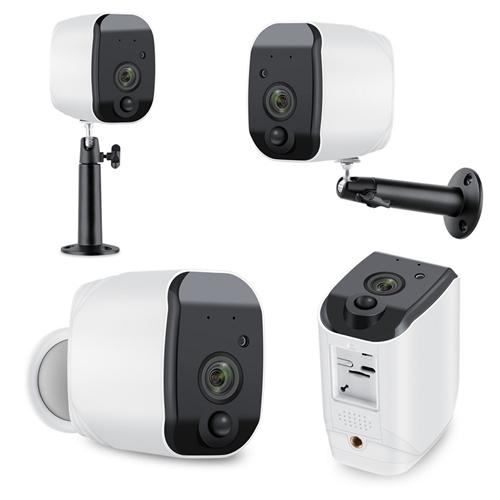 מצלמת אבטחה IP הפועלת על סוללות HD1080P (עד 64GBׂ)