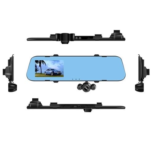 מצלמת דרך מובנית במראת רכב עם 3 עדשות