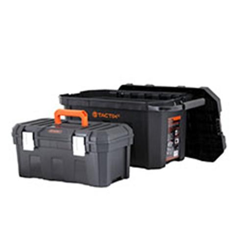 ארגז כלים כפול +גלגלים TACTIX