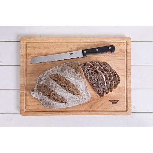 מארז סכין לחם וקרש חיתוך מעוצב BEROX
