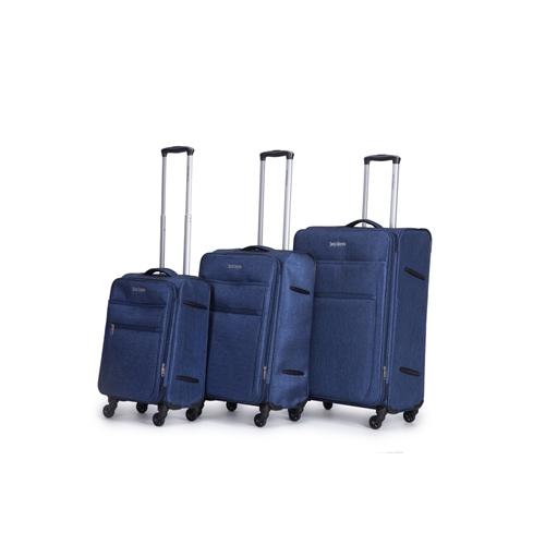 סט 3 מזוודות 29/24/20 רכות מתוצרת SWISS דגם MORENO