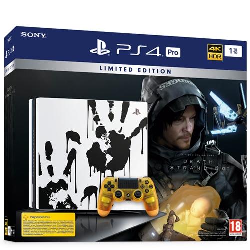 קונסולת PS4 PRO  + משחק במהדורה מוגבלת !