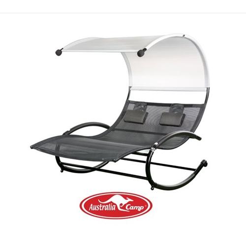 ריחופית - כסא נדנדה זוגי מפואר AUSTRALIA CAMP