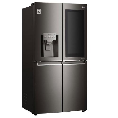 מקרר 4 דלתות נפח 653 ליטר תוצרת LG דגם GRX710INS