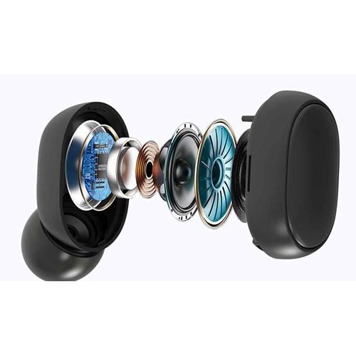 אוזניות כפתור  TWS סטריאו  אלחוטיות עם צג