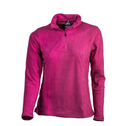 חולצה מיקרופליז נשים דגם HALF ZIPPER מבית GONATURE