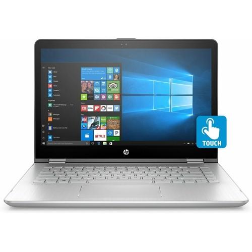 """מחשב נייד מסך 14"""" מגע מתהפך HP PAVILION X360"""
