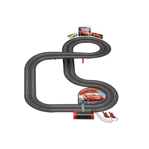 מסלול מכוניות מרוצים 3.5 מטר עם דמויות מהסרט CARS3