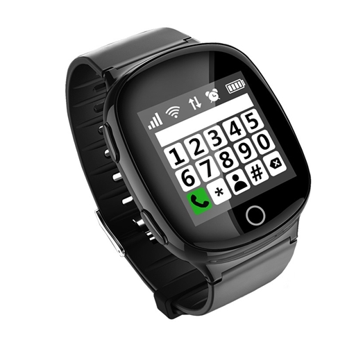 שעון טלפון חכם למבוגרים משולב לחצן מצוקה