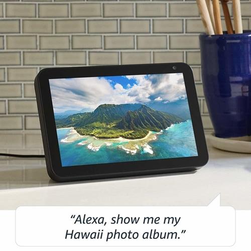 """רמקול חכם בעל מסך 8"""" Amazon Echo Show 8"""