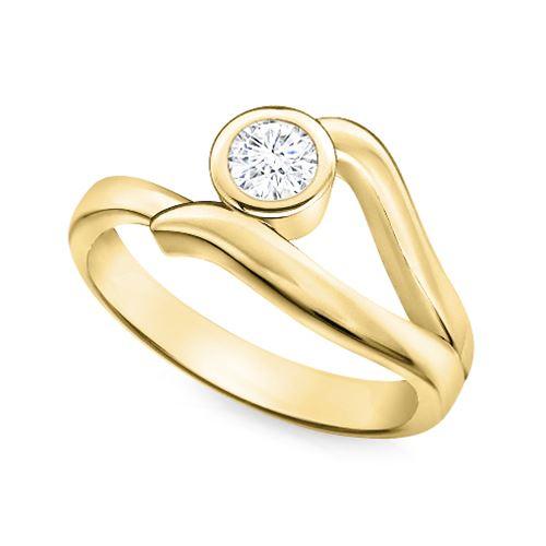 טבעת יהלום בעיצוב מיוחד