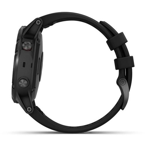ששעון מולטי-ספורט דגם fenix 5 Plus Sapphire שחור