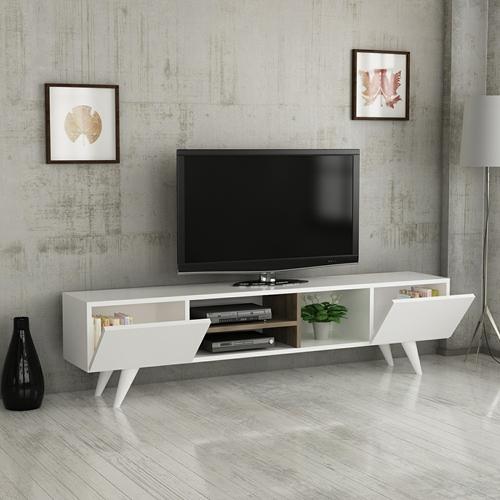 """מזנון מעוצב ברוחב 160 ס""""מ Tudo Design Adel White"""