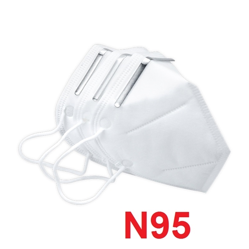 מארז 3 מסכות נשימה N95 להגנה מקסימלית מפני חיידקים