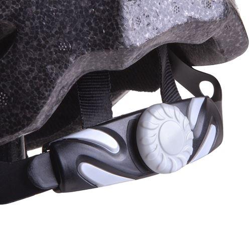 קסדה בטיחותית למבוגרים לאופנים CTB עם מצחיה - כחול