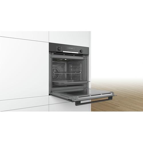 תנור אפיה בנוי פירוליטי שחור Bosch דגם HBG578BB0Y