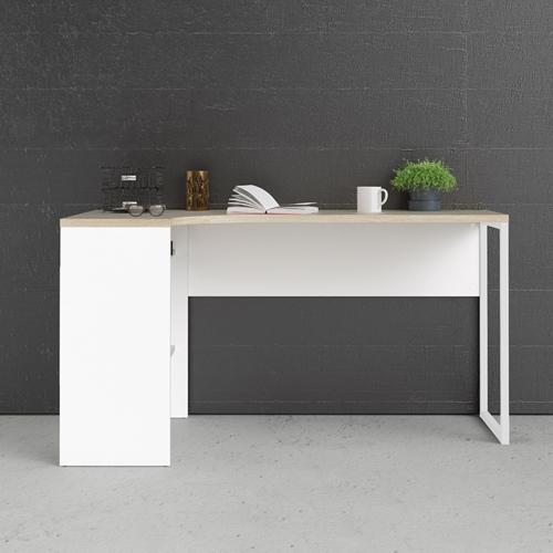שולחן כתיבה פינתי עם מגירות ותא אחסון תוצרת דנמרק