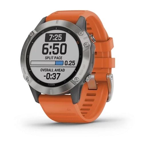 שעון מולטי ספורט דגם: FENIX 6 Sapphire Titanium