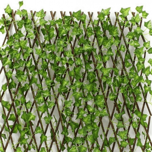 גדר עלים דקורטיבית מתכווננת לאורך ולגובה