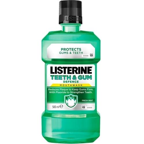 מארז חסכוני 6 בקבוקי מי פה ליסטרין TEETH & GUM