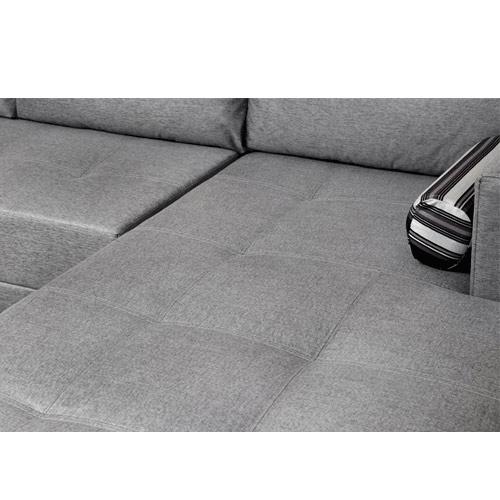 מערכת ישיבה פינתית ענקית מדמוי עור דגם  בליני