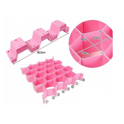 ארגונית כוורת מודולרית בעלת 17 תאים