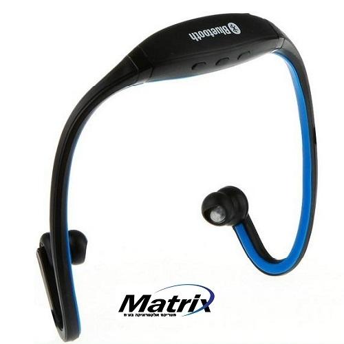 אוזניות ספורט בלוטות' כולל מקרופון