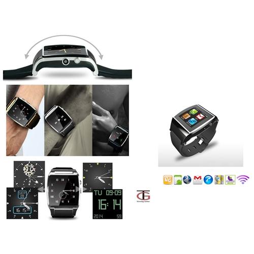 שעון טלפון עצמאי משולב כולל מצלמה