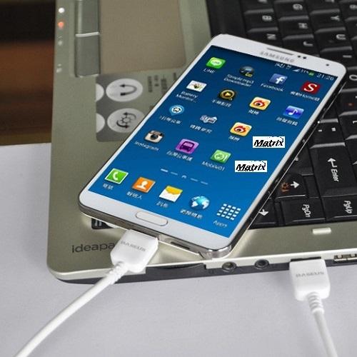 כבל טעינה וסנכרון USB3 לגלקסי S5  ו- NOTE3