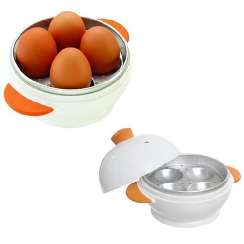 מתקן דמוי ביצה , להכנת 4 ביצים קשות