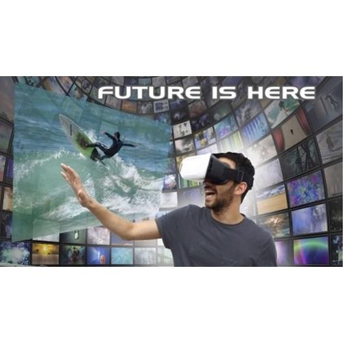 משקפי מציאות מדומה לסרטים ומשחקים ב 360 מעלות