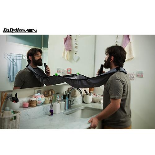 סינר לאיסוף השערות והזיפים שמירה על חדר אמבט נקי