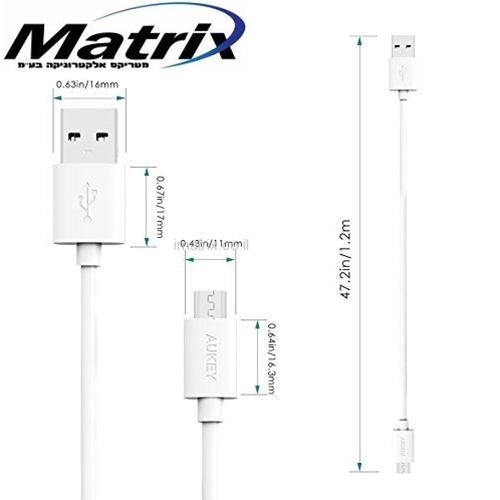 כבלים לטעינה וסנכרון מיקרו USB דגם CB-D10
